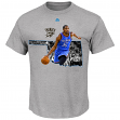 "Kevin Durant Oklahoma City Thunder Majestic NBA ""Bigger Prize"" Player T-Shirt"