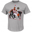"Damian Lillard Portland Trail Blazers Majestic NBA ""Bigger Prize"" Player T-Shirt"