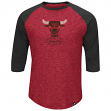 "Chicago Bulls Majestic NBA ""Don't Judge"" Hardwood Classics 3/4 Sleeve Shirt"