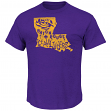 "LSU Tigers Majestic NCAA ""Far Beyond"" Short Sleeve Men's T-Shirt"