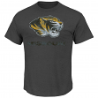 "Missouri Tigers NCAA Majestic ""Always Admired"" Weathered T-Shirt"