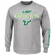 "South Florida Bulls NCAA Majestic ""Plan of Attack"" Men's Long Sleeve T-Shirt"