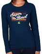 "Denver Broncos Women's Majestic NFL Super Bowl 50 ""At the Show"" L/S T-Shirt"