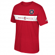 Chicago Fire Adidas MLS Performance Men's Short Sleeve Jersey T-Shirt