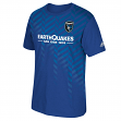San Jose Earthquakes Adidas MLS Performance Men's Short Sleeve Jersey T-Shirt