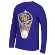 "Orlando City SC Adidas MLS ""Glow Explode"" Men's Climalite Long Sleeve T-Shirt"