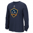 "Los Angeles Galaxy Adidas MLS ""High End Patch"" Men's Long Sleeve T-Shirt"