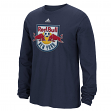 "New York Red Bulls Adidas MLS ""High End Patch"" Men's Long Sleeve T-Shirt"