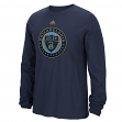 "Philadelphia Union Adidas MLS ""High End Patch"" Men's Long Sleeve T-Shirt"