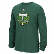 "Portland Timbers Adidas MLS ""High End Patch"" Men's Long Sleeve T-Shirt"