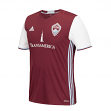 Colorado Rapids Adidas MLS Climalite Men's On-Field Replica Short Sleeve Jersey