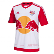New York Red Bulls Adidas MLS Climalite On-Field Replica Short Sleeve Jersey