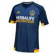 Los Angeles Galaxy Adidas MLS Climalite Men's On-Field Replica S/S Jersey - Navy