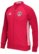 "New York Red Bulls Adidas MLS ""Anthem"" Men's Sideline Full Zip Jacket"