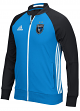 "San Jose Earthquakes Adidas MLS ""Anthem"" Men's Sideline Full Zip Jacket"