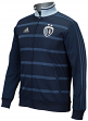 "Sporting Kansas City Adidas MLS ""Anthem"" Men's Sideline Full Zip Jacket"