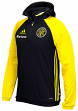 "Columbus Crew Adidas MLS ""Travel"" Men's On Field Pullover Hooded Sweatshirt"