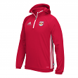 "New York Red Bulls Adidas MLS ""Travel"" Men's On Field Pullover Hooded Sweatshirt"