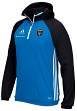 San Jose Earthquakes Adidas MLS Travel Men's On Field Pullover Hooded Sweatshirt