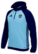Sporting Kansas City Adidas MLS Travel Men's On Field Pullover Hooded Sweatshirt