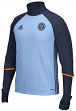 New York City FC Adidas MLS Men's Climacool Long Sleeve Training Shirt