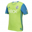 Seattle Sounders Adidas MLS Men's Authentic On-Field Climalite S/S Jersey