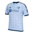 Sporting Kansas City Adidas MLS Men's Authentic On-Field Climalite S/S Jersey