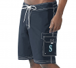 "Seattle Mariners MLB G-III ""Baseline"" Men's Boardshorts Swim Trunks"