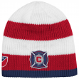 Chicago Fire Adidas MLS Authentic Draft Cuffless Knit Hat