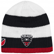 D.C. United Adidas MLS Authentic Draft Cuffless Knit Hat