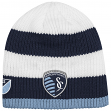 Sporting Kansas City Adidas MLS Authentic Draft Cuffless Knit Hat