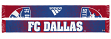 "FC Dallas Adidas MLS ""Dotted"" Performance Jacquard Team Scarf"