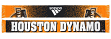"Houston Dynamo Adidas MLS ""Dotted"" Performance Jacquard Team Scarf"