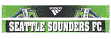 """Seattle Sounders Adidas MLS """"Dotted"""" Performance Jacquard Team Scarf"""
