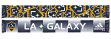 "Los Angeles Galaxy Adidas MLS ""Repeating Logo"" Polyester Team Scarf"