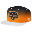 Houston Dynamo Adidas MLS  Team Performance Gradient Snap Back Hat