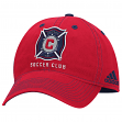 "Chicago Fire Adidas MLS ""Team Performance"" Structured Adjustable Hat"