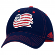"New England Revolution Adidas MLS ""Team Performance"" Structured Adjustable Hat"