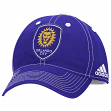 "Orlando City SC Adidas MLS ""Team Performance"" Structured Adjustable Hat"