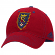 "Real Salt Lake Adidas MLS ""Team Performance"" Structured Adjustable Hat"