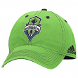 "Seattle Sounders Adidas MLS ""Team Performance"" Structured Adjustable Hat"