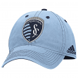 "Sporting Kansas City Adidas MLS ""Team Performance"" Structured Adjustable Hat"