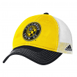 "Columbus Crew Adidas MLS ""Team Performance"" Slouch Adjustable Hat"