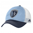 "Sporting Kansas City Adidas MLS ""Team Performance"" Slouch Adjustable Hat"