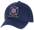 "Chicago Fire Adidas MLS ""Team Basics"" Structured Adjustable Hat"
