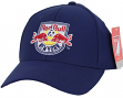 "New York Red Bulls Adidas MLS ""Team Basics"" Structured Adjustable Hat"