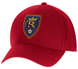 "Real Salt Lake Adidas MLS ""Team Basics"" Structured Adjustable Hat"