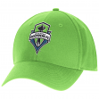 "Seattle Sounders Adidas MLS ""Team Basics"" Structured Adjustable Hat"