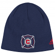 "Chicago Fire Adidas MLS ""Team Basics"" Cuffless Knit Hat"