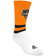 "Houston Dynamo Adidas MLS ""Team Logo on Color"" Jacquard Men's Crew Socks"